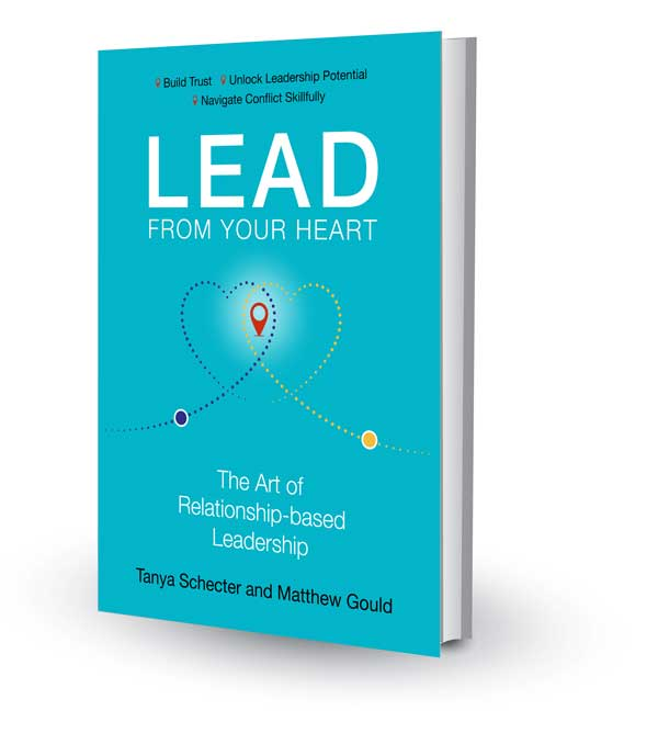 "Book Cover of ""Lead From Your Heart"""